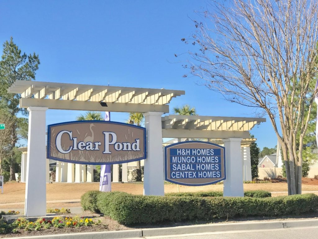 Clear Pond Entrance